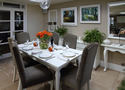 Dining Room styled by Outstanding Interiors of Weybridge