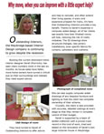Weybridge Flyer Artuicle about Outstanding Interiors