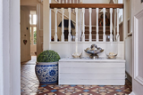 Sarah was interviewed about use of tiles in the design of her renovated Victorian house